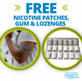 Free Nicotine Patches, Gum & Lozenges